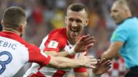 Perisic fires in Croatia equaliser
