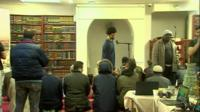 Al-Manar mosque in Cardiff welcomed the public as part of the open day