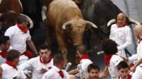 Pamplona running of bulls, 7 Jul 17