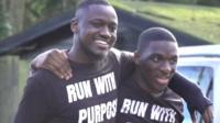 Joel and Nii set up Run With Purpose to help men across the city with their mental health.