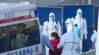 First patients arrive at newly built Wuhan hospital