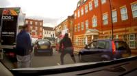 Tyriq Richards-Tindle attacks man with a knife