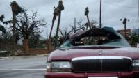 Hurricane Michael: The most powerful storm ever to hit parts of Florida, flooding homes and leaving thousands without power.