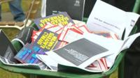 Welsh language flyers