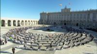 Spain memorial service