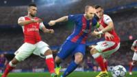 Pro Evolution Soccer 2017 gameplay still