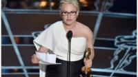 Patricia Arquette: 'A real human price is paid for wage inequality'