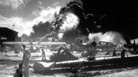 Pearl Harbor scene