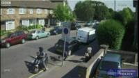 Lewisham robbery CCTV