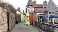 Puff the marathon dragon
