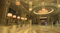 Inside the Ritz-Carlton in Riyadh