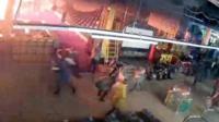 """Пожар в Кемерове: запись камер видеонаблюдения в ТЦ """"Зимняя вишня"""""""