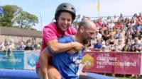 Wife-carrying competition