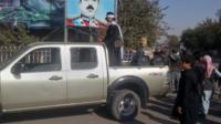Afghan fighter in Kunduz