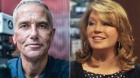 Eddie Mair and Kirsty Young
