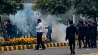 Lawyers protest in Lahore
