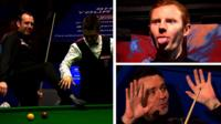 Mark Selby, Michael Holt, Anthony McGill and Alan McManus