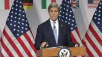 John Kerry, speaking in Japan