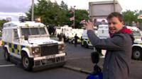 Chris Buckler reports from north Belfast