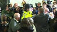 Scuffle at election count