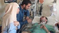 Aymen Derbali in hospital