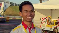 Indonesian engineering student Amin Sobirin