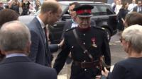 Prince William (left) and Jonathan Douglas-Hughes