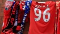 Liverpool shirt and scarves