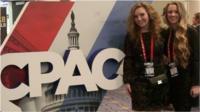 Activists at CPAC
