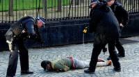Арест у британского парламента