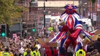 Rio 2016 Team GB Manchester parade