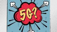 5G logo cartoon