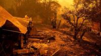 Лесные пожары в штате Новый Южный Уэльс.