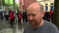 Colin Nosworthy of Cymdeithas yr Iaith Gymraeg