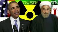 US President Barack Obama and Iranian President Hassan Rouhani