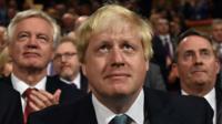 David Davis, Boris Johnson and Liam Fox