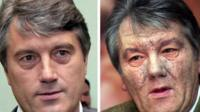 Ukraine's former president Viktor Yushchenko