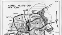 Old map of Hemel Hempstead