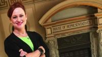 Teacher Melanie Spoon is running for office in Oklahoma