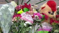 Tributes in St Petersburg