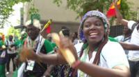 Senegal fan
