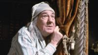 Michael Hordern as Ebenezer Scrooge