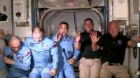 На МКС прибыли астронавты с корабля SpaceX.
