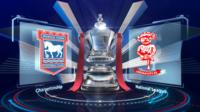 Championship club Ipswich come from behind twice to salvage a draw with National League side Lincoln in the third round of the FA Cup.