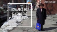 Edward S MA 73 years old psychotherapist