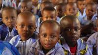 School children in Ivory Coast