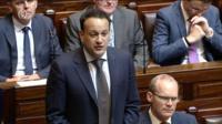 Taoiseach in Dail