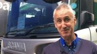 Nigel, HGV driver