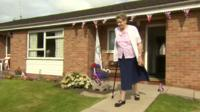 The grandmother of Olympic gold medal-winning swimmer Adam Peaty has staged a celebratory tea party with friends and family.