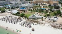 Aerial library image of hotel in Sousse, Tunisia